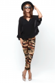"""Modassori Leggings """"IN THE ARMY NOW"""", Camouflage Look, small - medium, dunkles Oliv<p class=""""wc-gzd-cart-info delivery-time-info"""">Lieferzeit: 2 Tage</p>"""